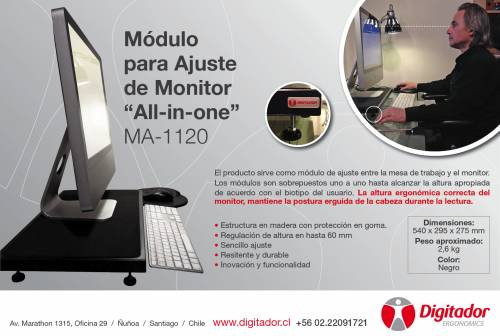 Módulo para ajuste de Monitor All-in-one