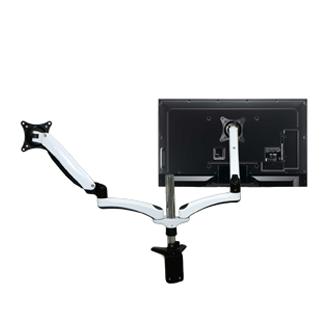 SOPORTE DOBLE PARA MONITORES LCD 15'' a 27'' (SMDE124D)