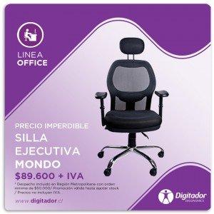 Promoción válida para el mes Julio 2015 – Silla Modelo Mondo