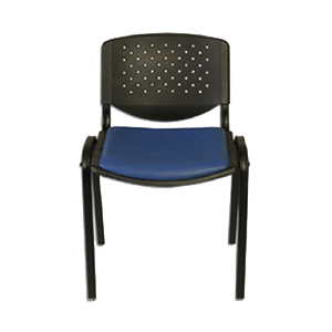 Silla prisma asiento tapizado (SAMISOPRIS-021)