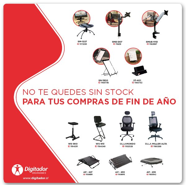 No te quedes sin stock