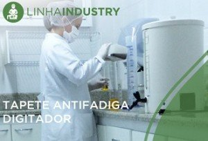 Alfombra antifatiga bactericida Digitador