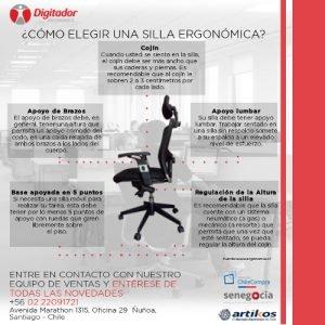 ¿Cómo elegir una silla ergonómica?