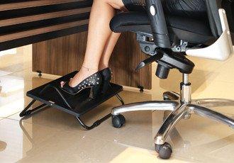 Estación de trabajo, mobiliario, equipos y accesorios: EL APOYA PIE